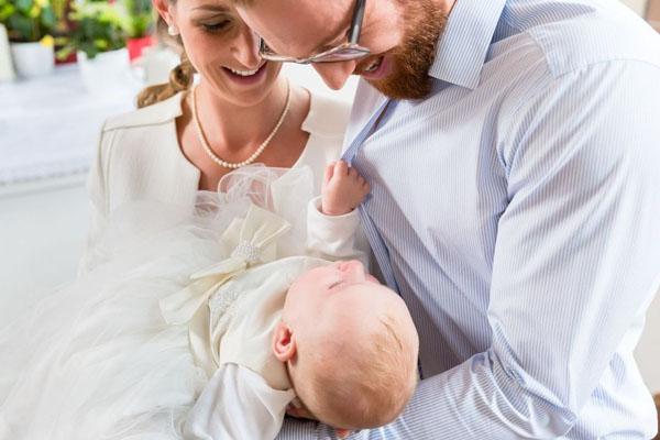 Baptême faire part unique