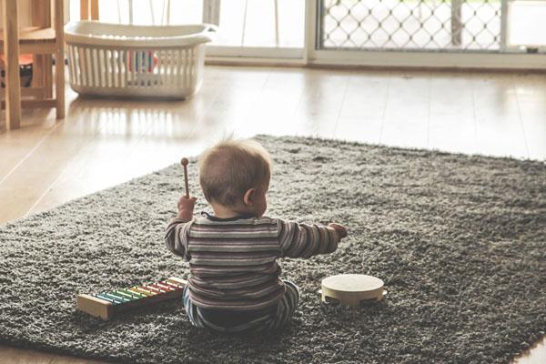 Découverte musique bébé