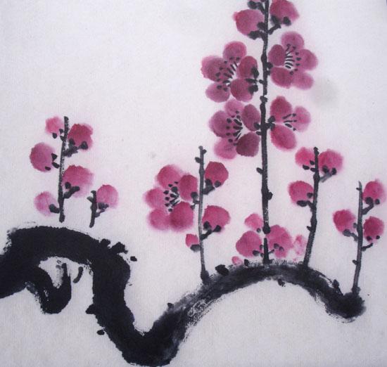 fleurs-cerisier-japonais-peinture