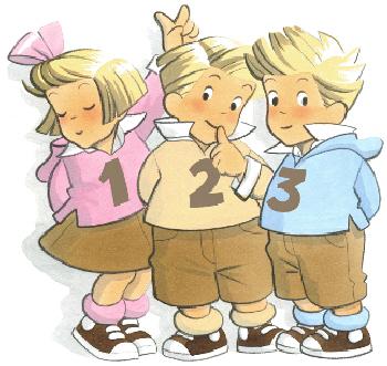 les triples enfants