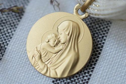 Médaille Madone de Botticelli