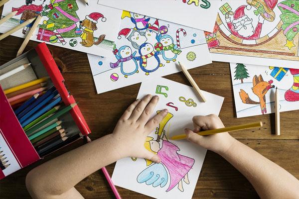 Peinture activité enfant