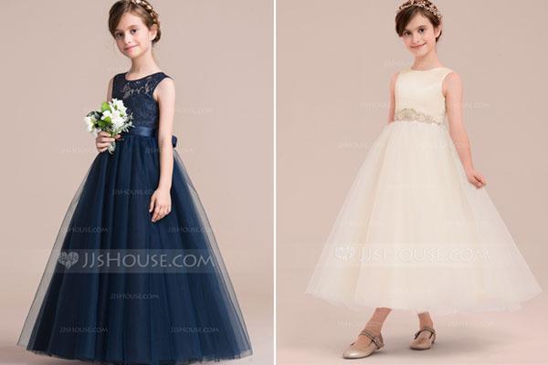 Robe de princesse pour cérémonie Petite fille