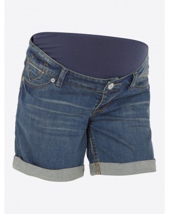 short en jean maternité