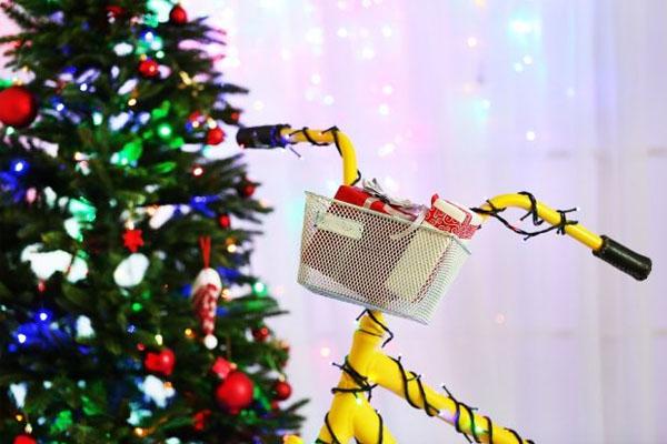 Vélo cadeau de Noel